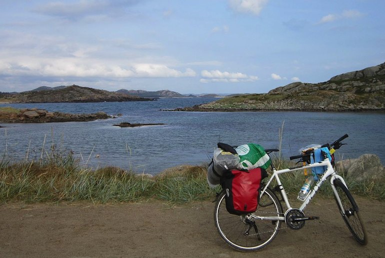 Norway has several long-distance bike routes