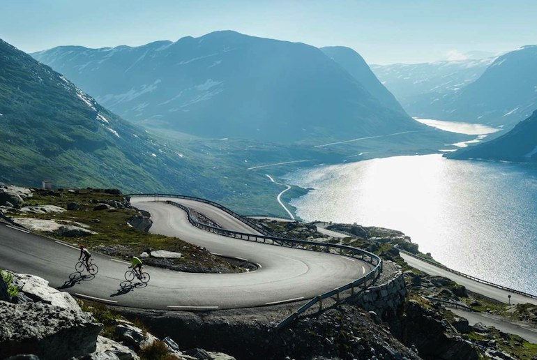 Cycling in Norway is tough but rewarding