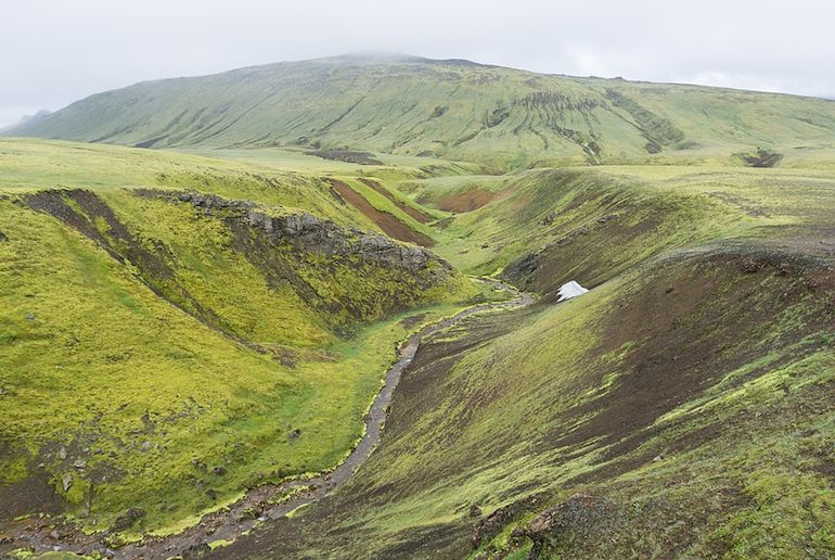 Hiking in Iceland is completely free