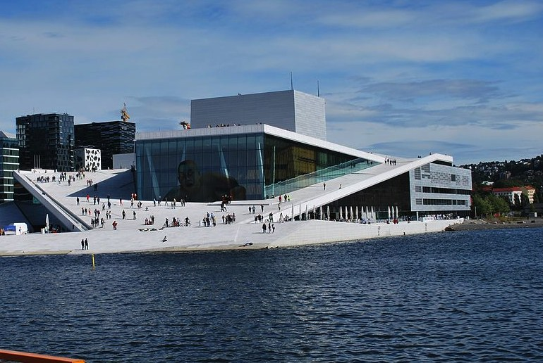 Norway has a high standard of living with plenty of culture, including the Oslo opera house