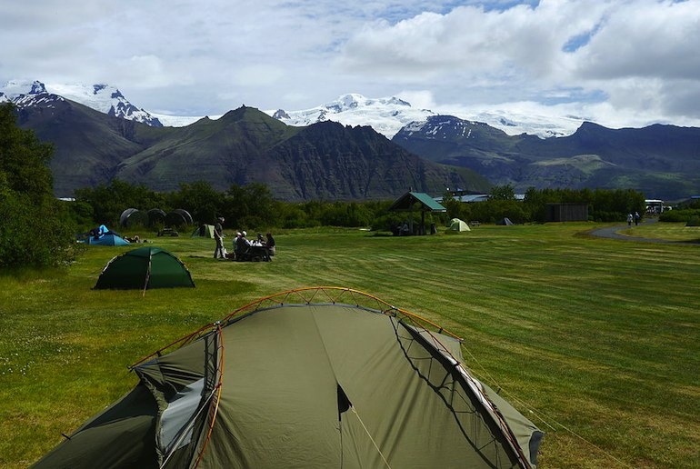 Camping is a good bet for a cheap trip to Iceland