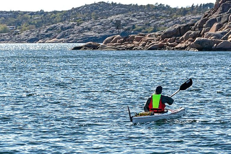 Take a self-guided or organised kayak tour in Sweden