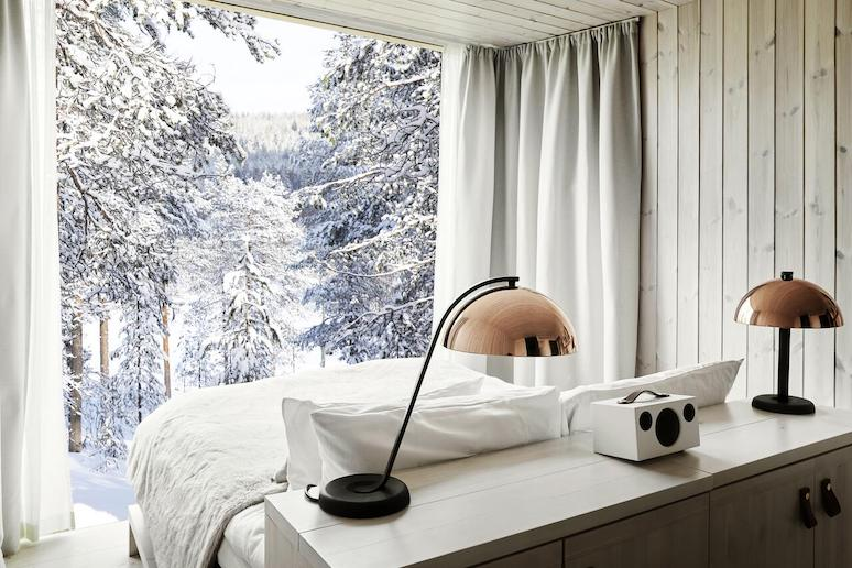 Stay in treehouse in the Arctic Circle in Finland