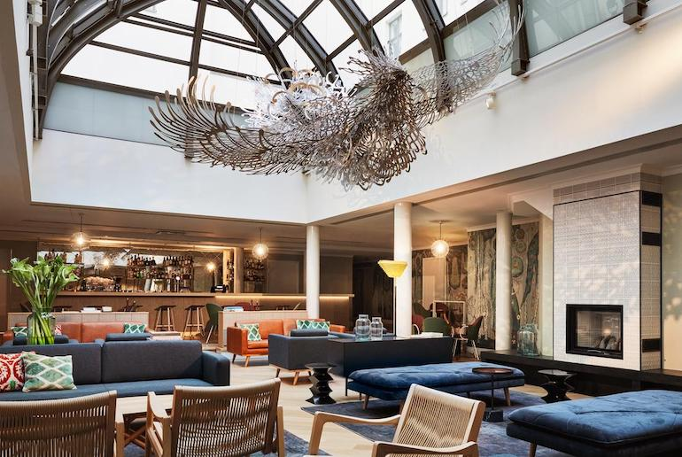 Finnish designers and artists are on show at the plush Hotel St George in Helsinki