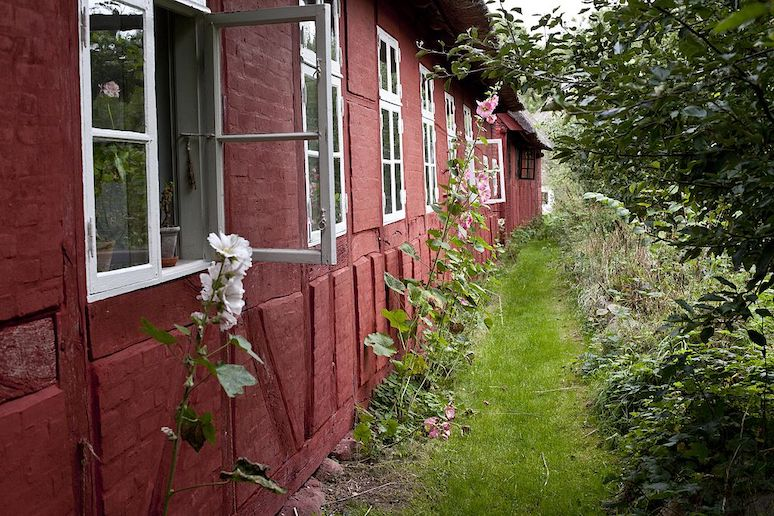 There's tons of hygge amid the quaint buildings and gardens at Den Fynske Landsby on Funen