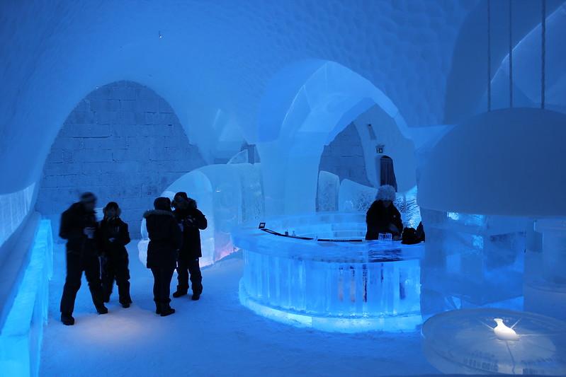 The Icebar in Sweden