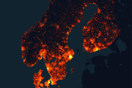 Cool maps of Scandinavia