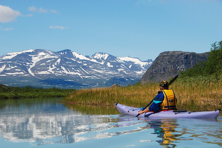 Which is better? Kayaking in Sweden or climbing in Norway?