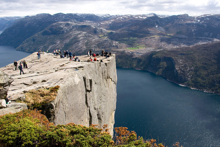 Pulpit Rock is one of Norway's best hikes.