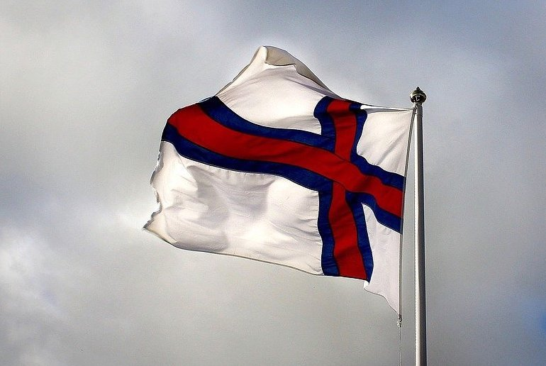 The Faroe Islands are part of Denmark but have their own flag