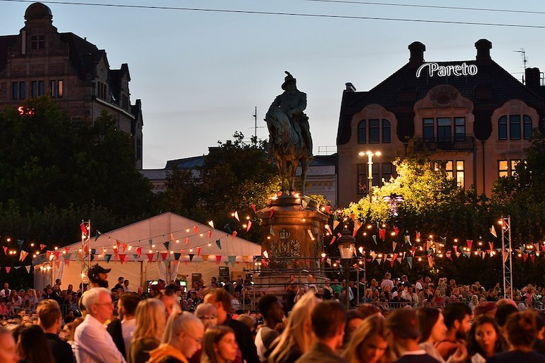 The Malmo festival is an annual event that is free for all