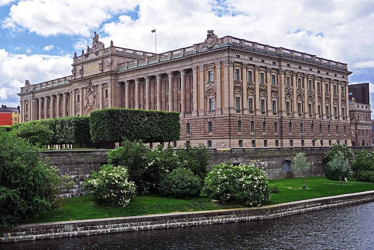 Sweden's government is a coalition of left-leaning MPs and greens