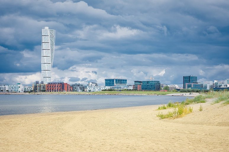 Going to the beach in Malmo is free