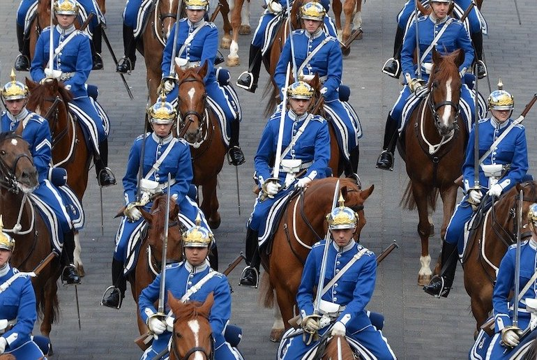 The Swedish monarchy is purely ceremonial