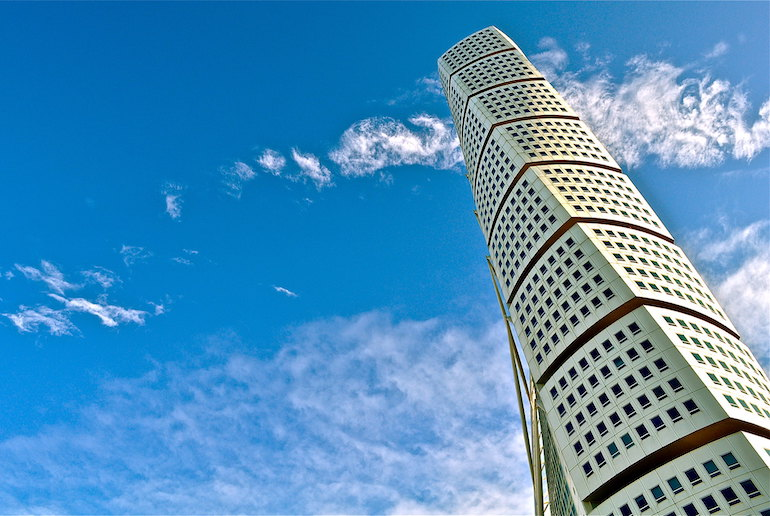 Check out the Turning Torso – it's a fun free thing to do in Malmo.