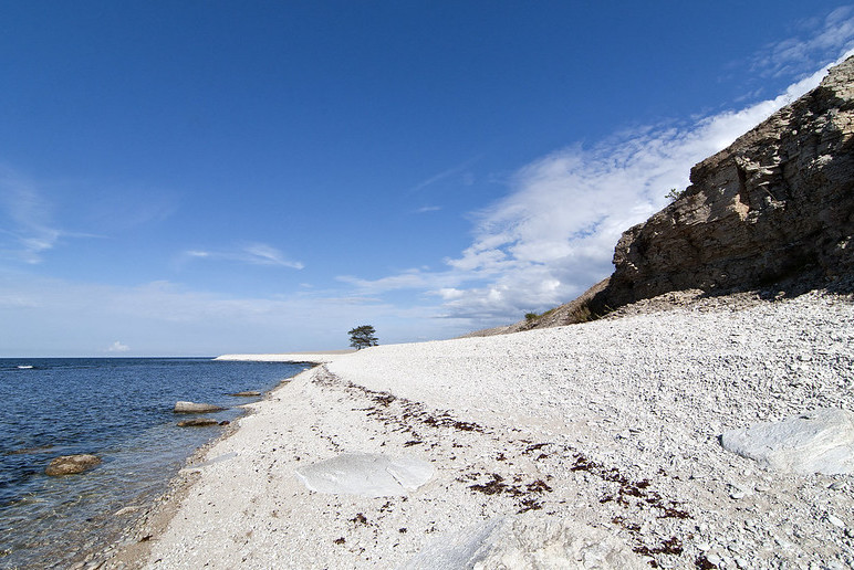The Baltic island of Gotland is known for its lovely sandy beaches