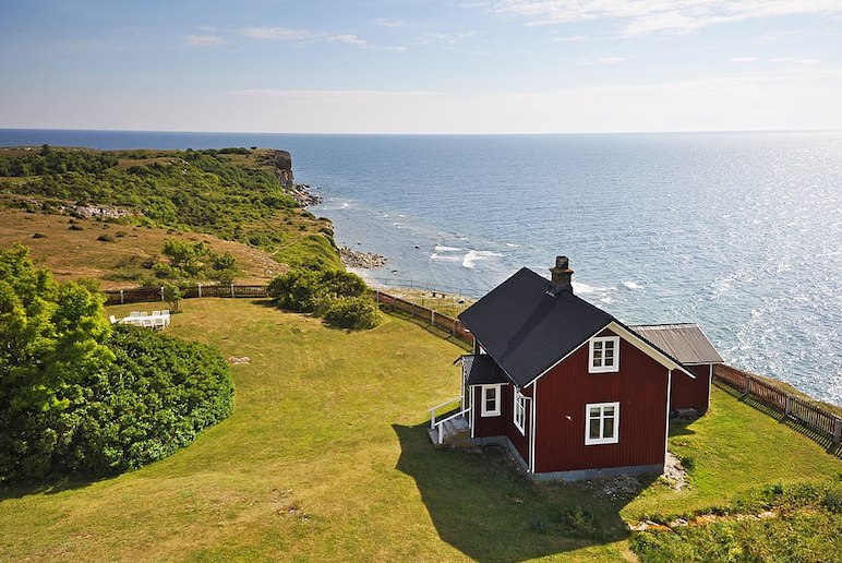 Explore the pretty villages and coast of Gotland in the Baltic Sea.