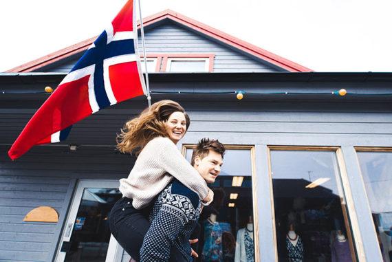 Norwegian fisherman's sweaters