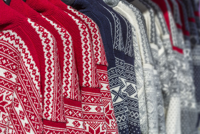 Traditional Norwegian sweaters